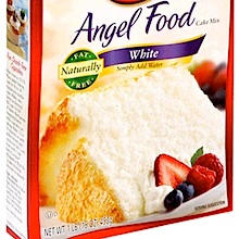 Easy angel food cake mix recipes