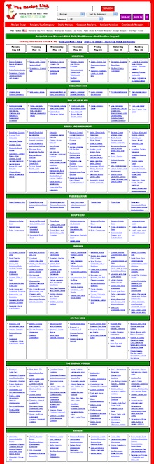 This Week S Mix And Match Daily Menu Planner Is Online August 12